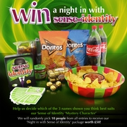 Win a night in with Sense of Identity!